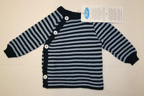 Baumwollpulli blaugestreift, ab Gr 50