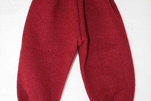 Walkhose gefüttert, rot