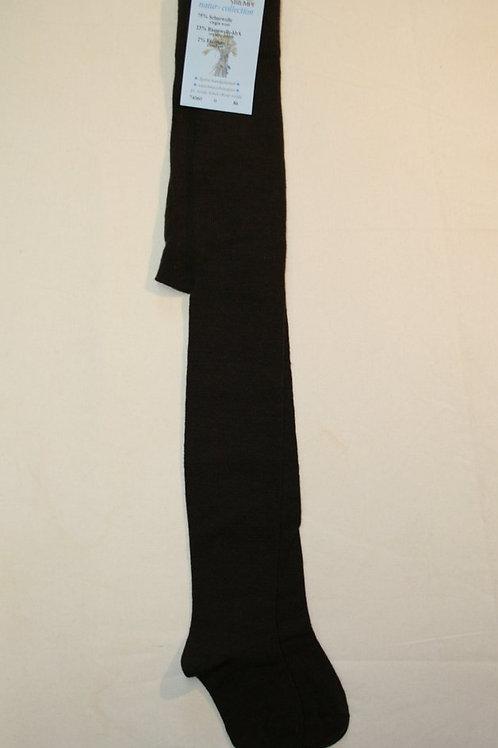 Strumpfhose ab Gr.92, uni braun