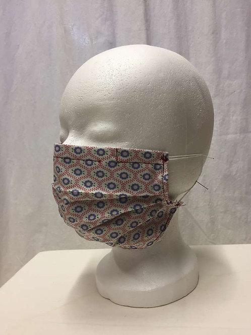 Maske, blumig Ornamente