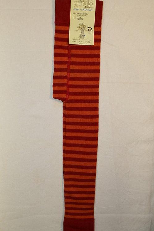 Leggings ab Gr.92, Rot/Orange