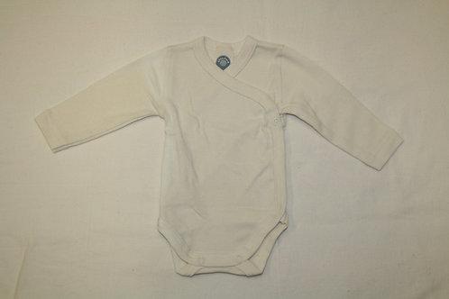 Baby Wickelbody langer Arm, Baumwolle (Bio) ab Gr.50