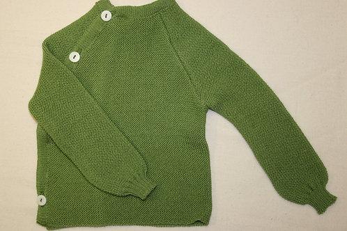 Wollpulli grün, ab Gr.50 von Reiff