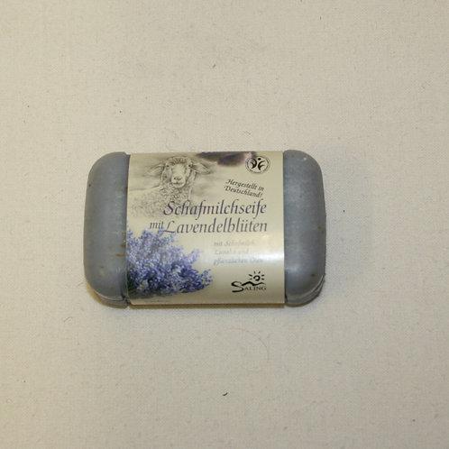 Schafmilchseife mit Lavendel