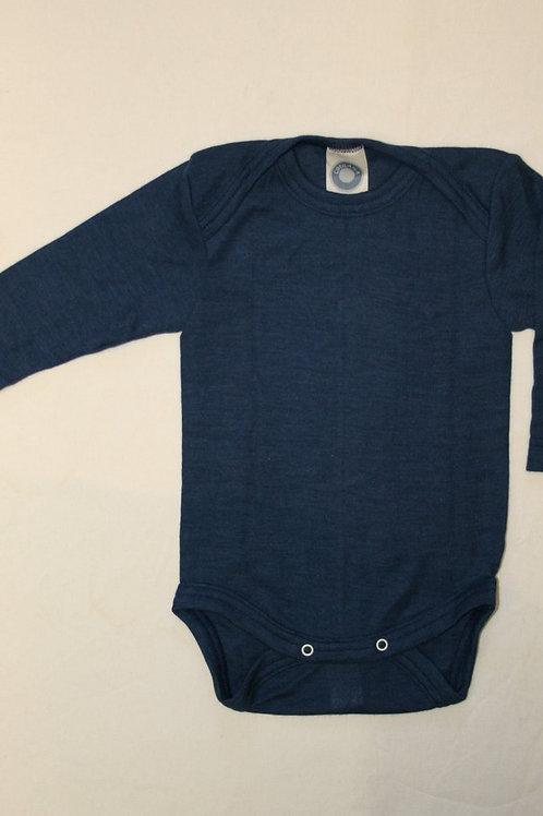 Wolle/Seide Body ab Gr.50, blau