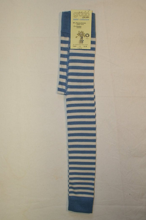 Leggings ab Gr.92, Natur/Blau
