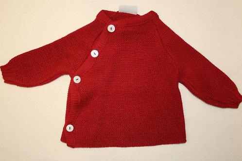 Baumwollpulli rot, ab Gr.50, von Reiff