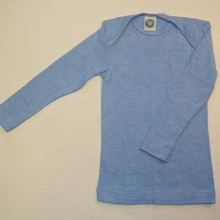 Schlupfhemd ab Gr.50, Blau