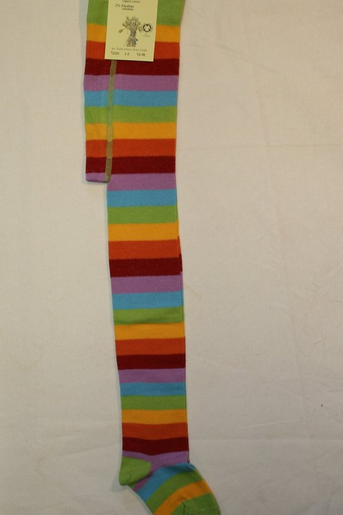 Ringelstrumpfhose ab Gr.92, Regenbogen
