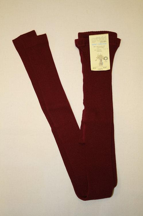 Leggings rot, Rippe von Grödo