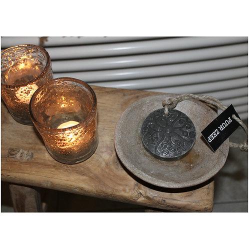 Puur Zeep Hanger batik grijs 70 gr