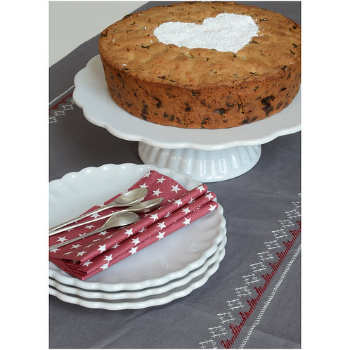 Ontbijt Bord/ Dessert Bord Wit Mynte (21 cm)