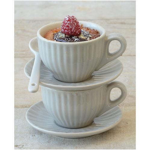 Espresso tas met bordje Latte Mynte