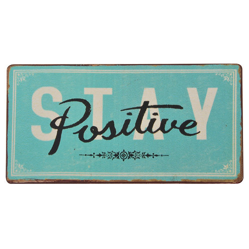 "Magneet "" Stay Positive """