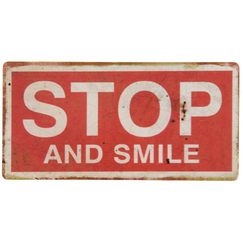 "Magneet "" Stop and Smile """
