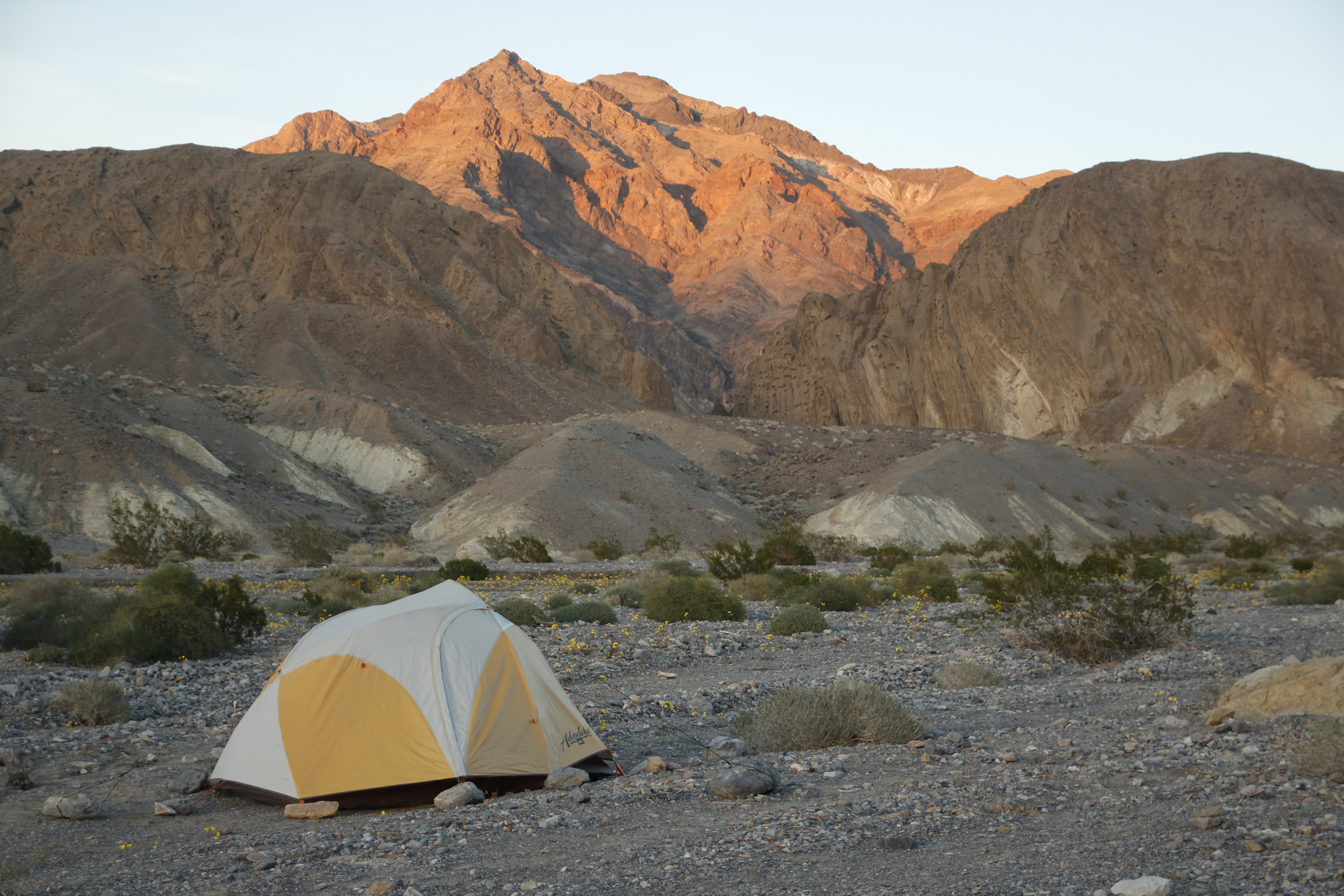 Death Valley Camping and Hiking
