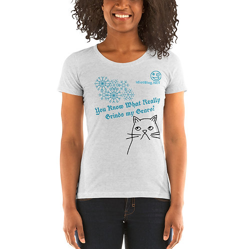 Women's What Really Grinds my Gears t-shirt