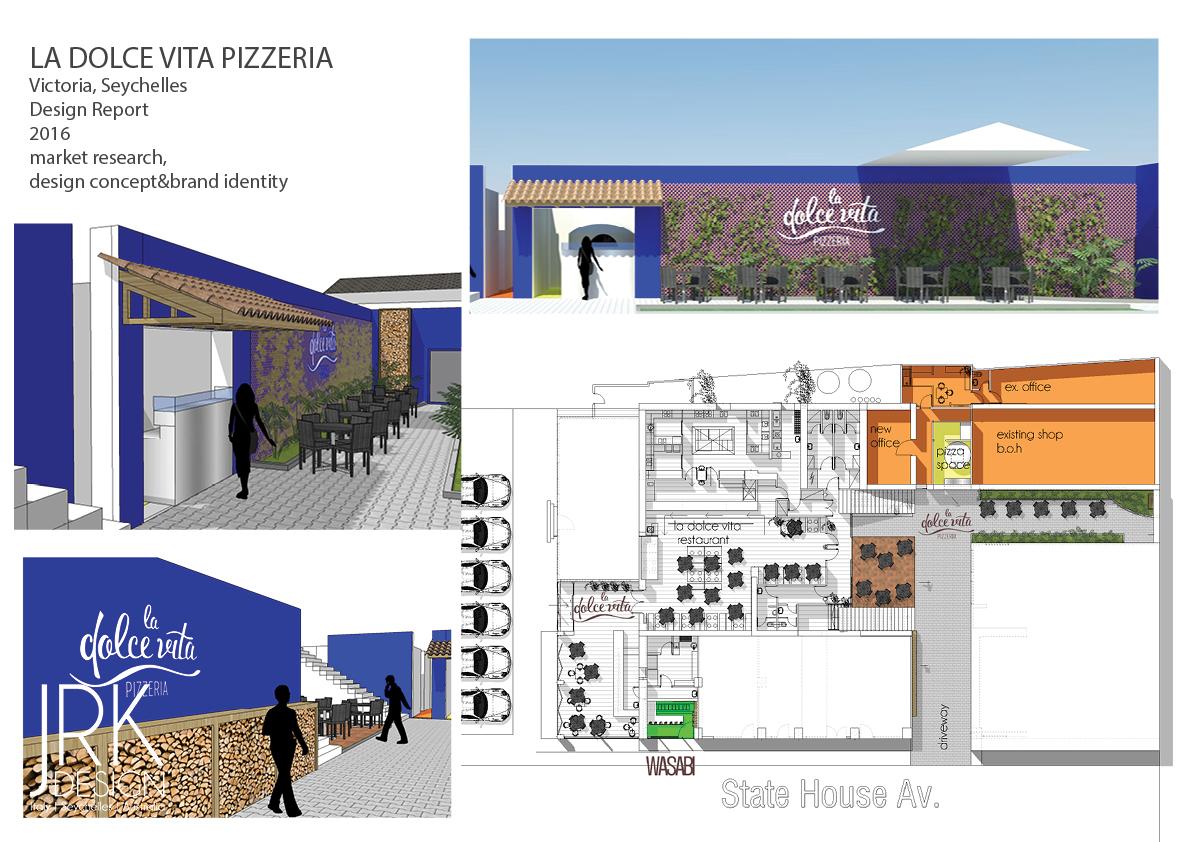 Pizzeria la Dolce Vita Seychelles