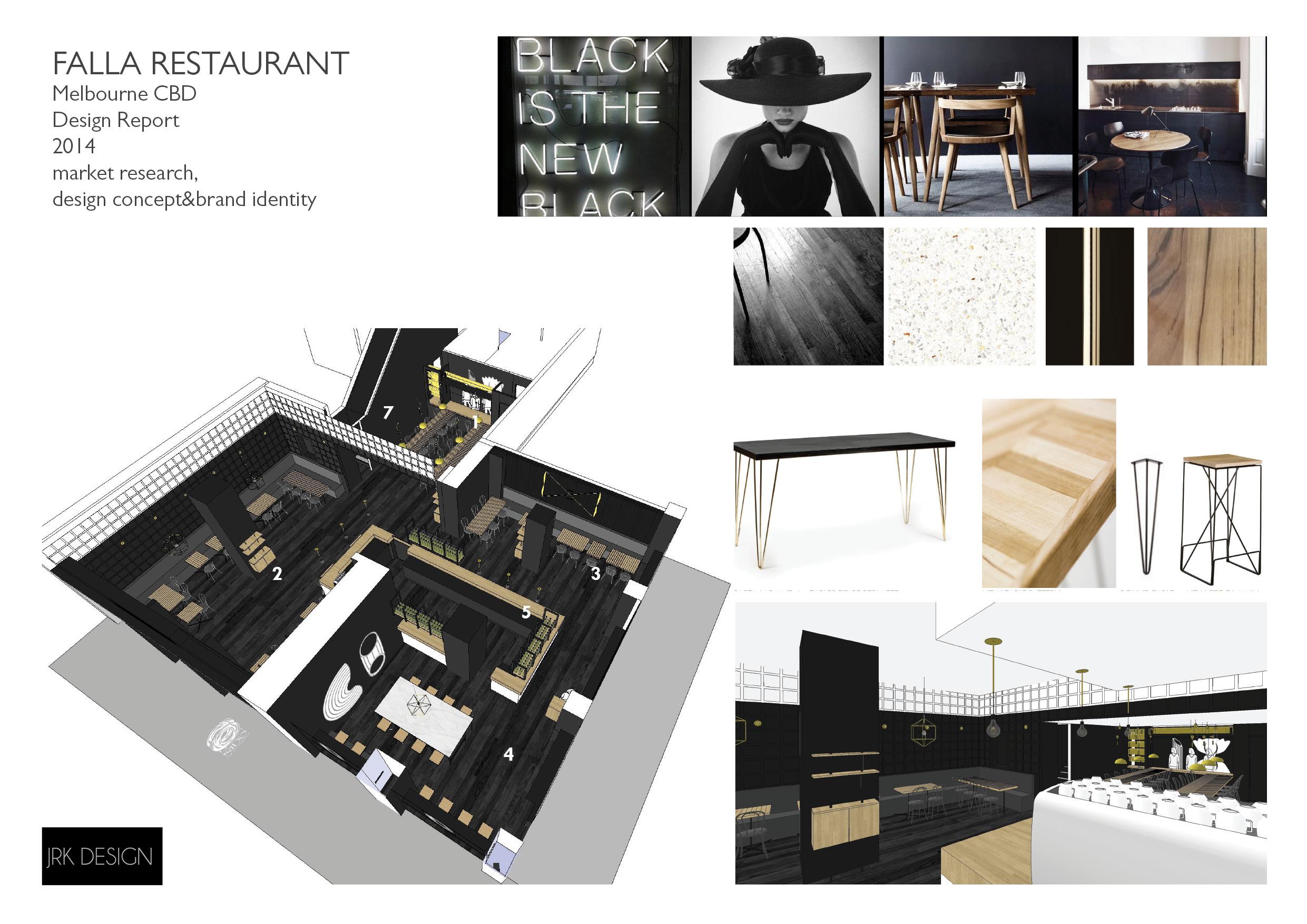 Restaurant fitout Melbourne JRKdesign