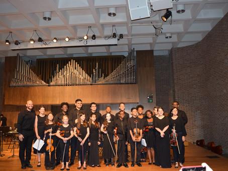 MYSO Participates in Premier Orchestral Institute 2019