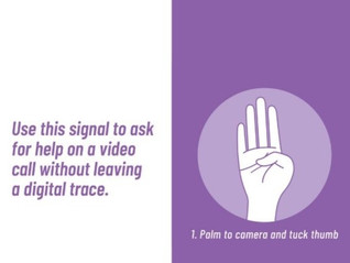 Be a Part of the #SignalForHelp Campaign