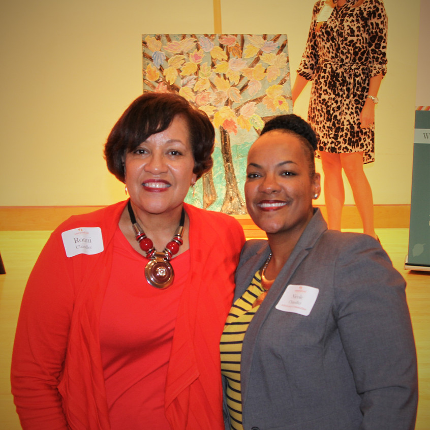 Ronni Chandler with her daughter, Nicole Chandler, Exec. Director of the Change Center.