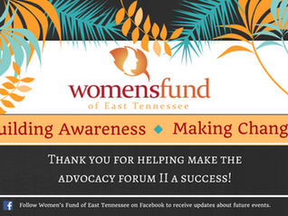 Women's Fund 2nd Advocacy Forum