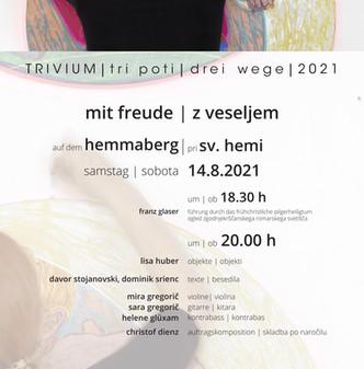 TRIVIUM 2021  |  mit freude | z veseljem