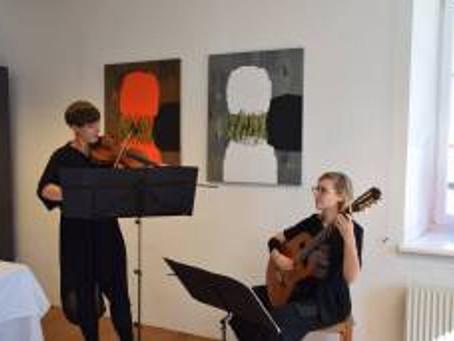 Ausstellungseröffnung | odprtje razstave