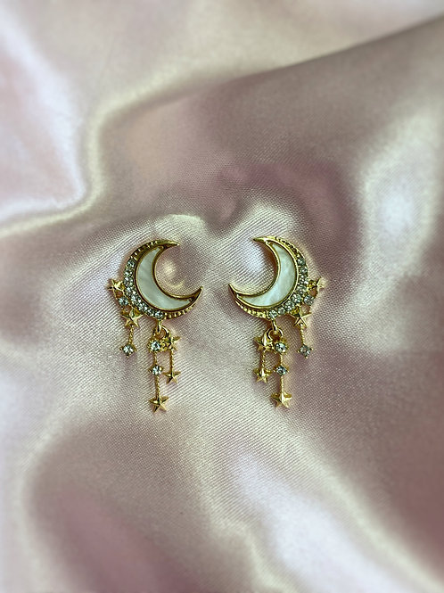 Celestial Stud Earrings
