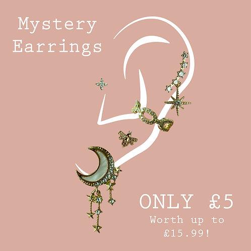 Mystery Earrings/Ear Cuff