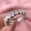 Thumbnail: Dewdrop Cubic Zirconia Ring