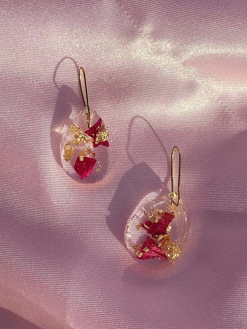 Teardrop Resin Earrings