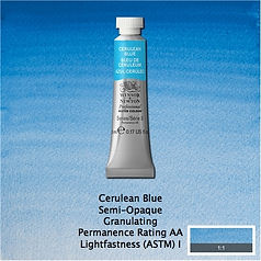 Winsor and Newton Cerulean Blue Professional Watercolour