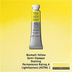 Winsor and Newton Bismuth Yellow Professional Watercolours