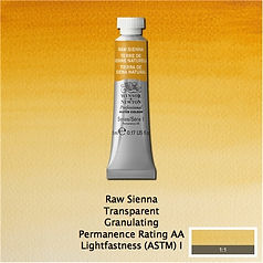 Winsor and Newton Raw Sienna Professional Watercolour