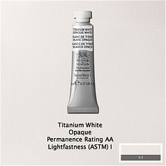 Winsor and Newton Titanium White Professional Watercolour