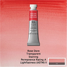 Winsor and Newton Rose Dore Professional Watercolour