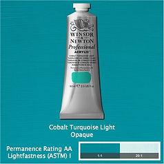 Winsor and Newton Cobalt Turquoise Light Professional Acrylic