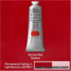 Winsor and Newton Pyrrole Redd Professional Acrylic