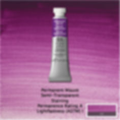 Winsor and Newton Permanent Mauve Professional Watercolour