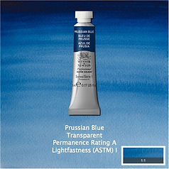 Winsor and Newton Prussian Blue Professional Watercolour