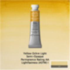 Winsor and Newton Yellow Ochre Light Professional Watercolour