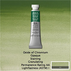 Winsor and Newton Oxide of Chromium Professional Watercolours