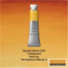 Winsor and Newton Quinacridone Gold Professional Watercolour