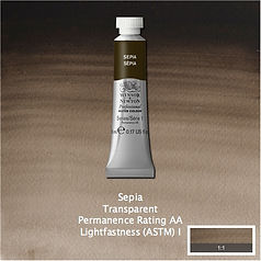 Winsor and Newton Sepia Professional Watercolour