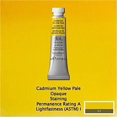 Winsor and Newton Cadmium Yellow Pale Professional Watercolours