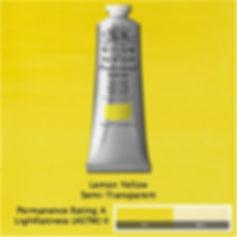 Winsor and Newton Lemon Yellow Professional Acrylic