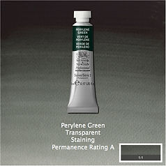Winsor and Newton Perylene Green Professional Watercolour