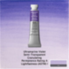 Winsor and Newton Ultramarine Violet Professional Watercolour